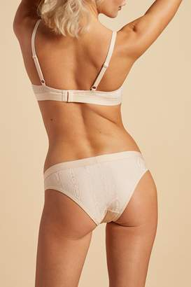 0266172ad550 Negative Underwear Silky Brief in Peach Moire
