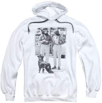 2Bhip Cheech & Chong Up In Smoke Stoner Comedy Dog Adult Pull-Over Hoodie