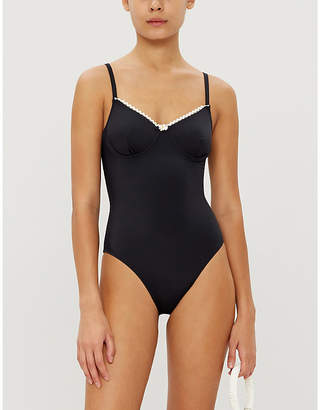 Solid & Striped Taylor scoop-neck swimsuit
