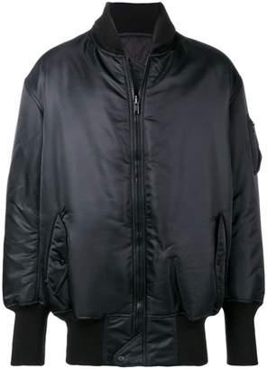 6064413f6511 Y-3 Y3 ADIDAS X YOHJI YAMAMOTO rear logo bomber jacket