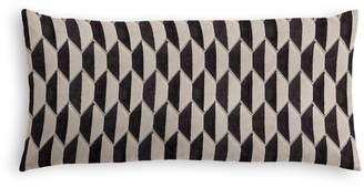 Loom Decor Lumbar Pillow Alessio Geo - Linen