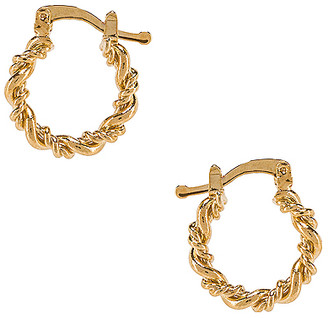 The M Jewelers NY Mini Capri Hoops