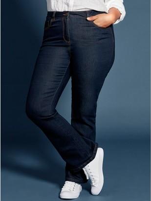 M&Co Plus bootcut jeans