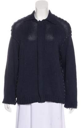 Dolce & Gabbana Zip-Up Knit Sweater