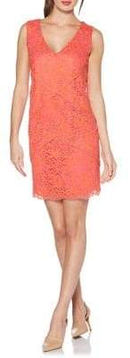 Laundry by Shelli Segal Layered Lace Sheath Dress