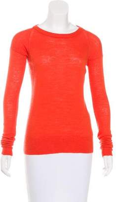 A.L.C. Long Sleeve Wool Top