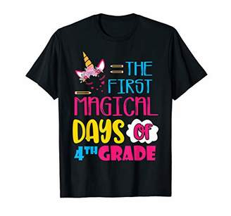 kids 1st Day Of 4th Grade Shirt Back To School Gift