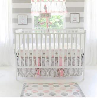 My Baby Sam Olivia Rose 3pc Crib Bedding Set