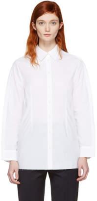 Maison Margiela White Button Back Shirt