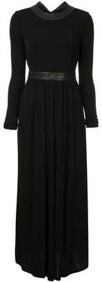 Rosetta Getty open back maxi dress