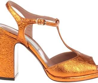 L'Autre Chose L`autre Chose Metallic Sandals