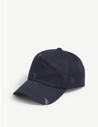 Emporio Armani Logo-print cotton baseball cap 276b38a70bbf