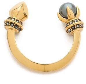 Rebecca Minkoff Curbs Pearly Stud Ring