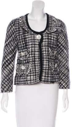 Marc Jacobs Wool Plaid Jacket