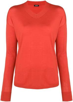 Aspesi round neck jumper
