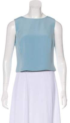 Giorgio Armani Sleeveless Crop Top