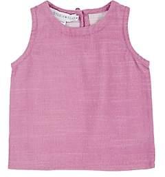 Victoria Road Kids' Slub Cotton Sleeveless Top-Purple