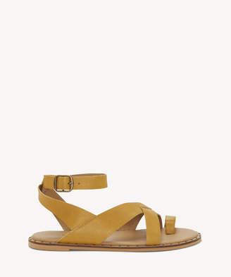 Sole Society FARRAN Ankle Strap Flat Sandal