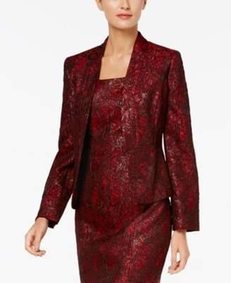 Kasper Jacquard Shawl-Collar Jacket