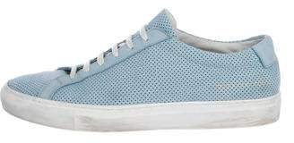 Common Projects Woman by Nubuck Achilles Sneakers