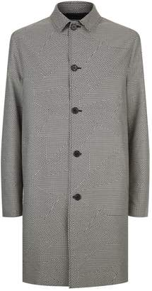 McQ Dogtooth Car Coat