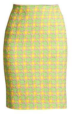 Escada Women's Check Skirt