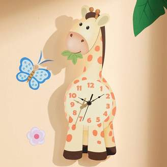 Fantasy Fields By Teamson Fantasy Fields by Teamson Sunny Safari Giraffe Wall Clock