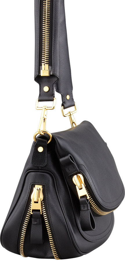 Tom Ford Jennifer Medium Leather Crossbody Bag