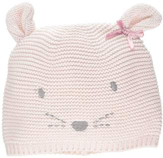 Mothercare My First Purl Knit Little Mouse Hat, Multi, 3-6 Months (Manufacturer Size:2)