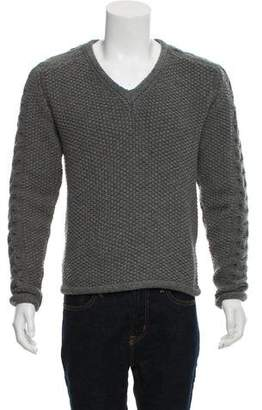 Calvin Klein Collection Wool & Cashmere Knit Sweater
