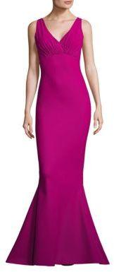 La Petite Robe di Chiara Boni Guinevere Mermaid Gown $995 thestylecure.com