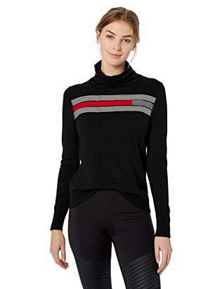 Pendleton Women's Stripe Merino Turtleneck Sweater
