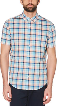Original Penguin CLASSIC FIT P55 PLAID SHIRT