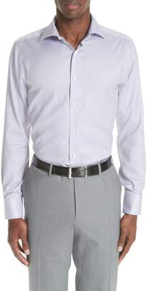 Canali Trim Fit Dress Shirt