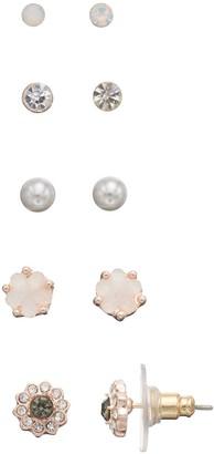Lauren Conrad Floral Nickel Free Stud Earring Set