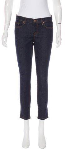 J BrandJ Brand Mid-Rise Straight-Leg Jeans