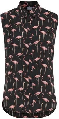 B.young Flamingo Sleeveless Blouse
