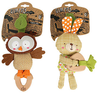 Taggies Bright Starts Teethe And Take Forest Pal, Assorted