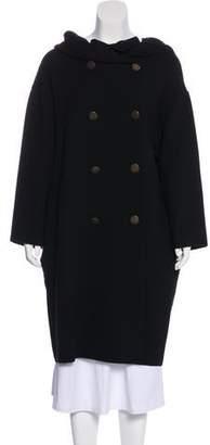 Lanvin Knee-Length Wool Coat