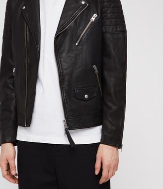 Leo Leather Biker Jacket