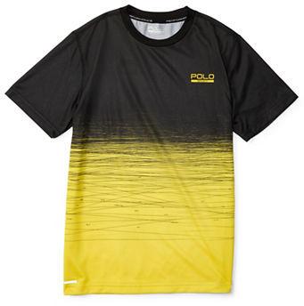 Ralph Lauren Childrenswear Boys 8-20 Jersey Printed Active Crewneck T-Shirt