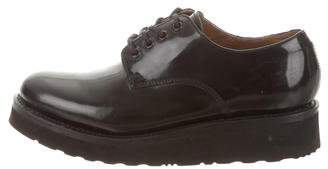 Grenson Platform Lace-Up Oxfords