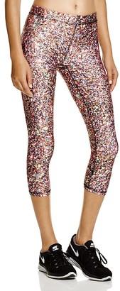 Zara Terez Glitter Capri Leggings $75 thestylecure.com