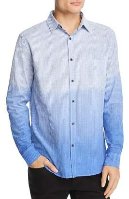 Sovereign Code Capitola Textured Dip-Dyed Regular Fit Shirt