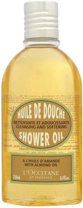 L'Occitane 8.4Oz Almond Cleansing & Softening Shower Oil