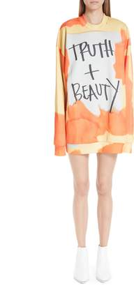 Marques Almeida Marques'Almeida Truth & Beauty Oversized Sweatshirt