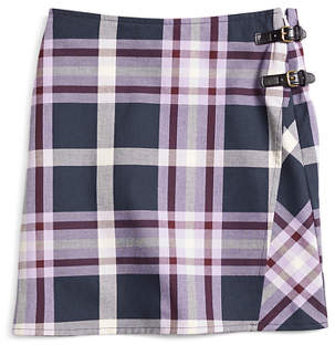 Brooks Brothers Girls Tartan Skirt