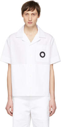 Craig Green White Embroidered Hole Shirt