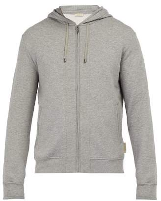 Zimmerli Stretch Cotton Melange Hooded Sweatshirt - Mens - Grey