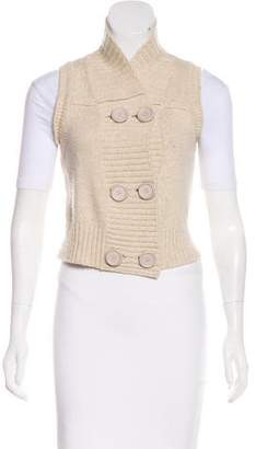 Chloé Double-Breasted Wool Vest